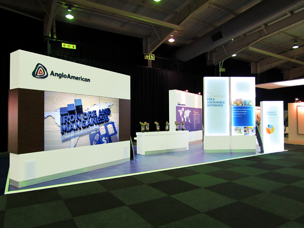 Anglo America Exhibition Stand