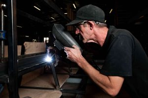 Our Experienced welder at work | Innovation Factory