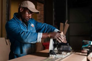 Our Experienced Carpenter at work | Innovation Factory