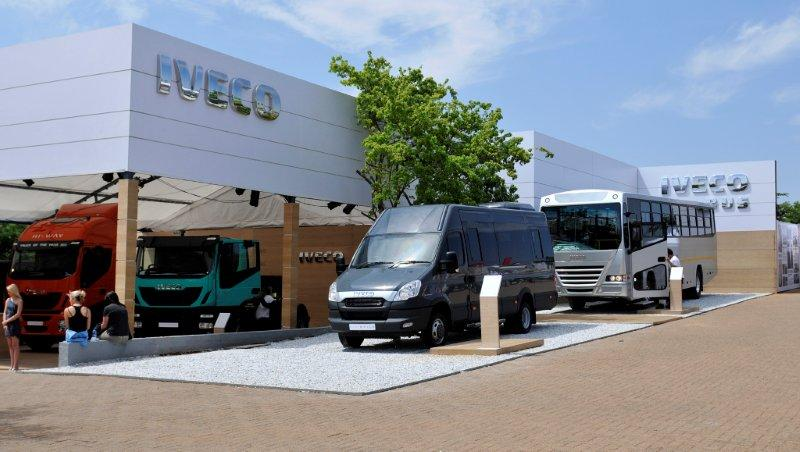 Iveco Exhibition Stand at JIMS 2013,built by Innovation Factory