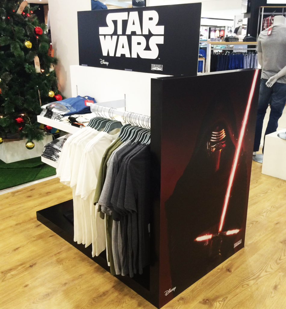 Star Wars Merchandise Unit built by Innovation Factory