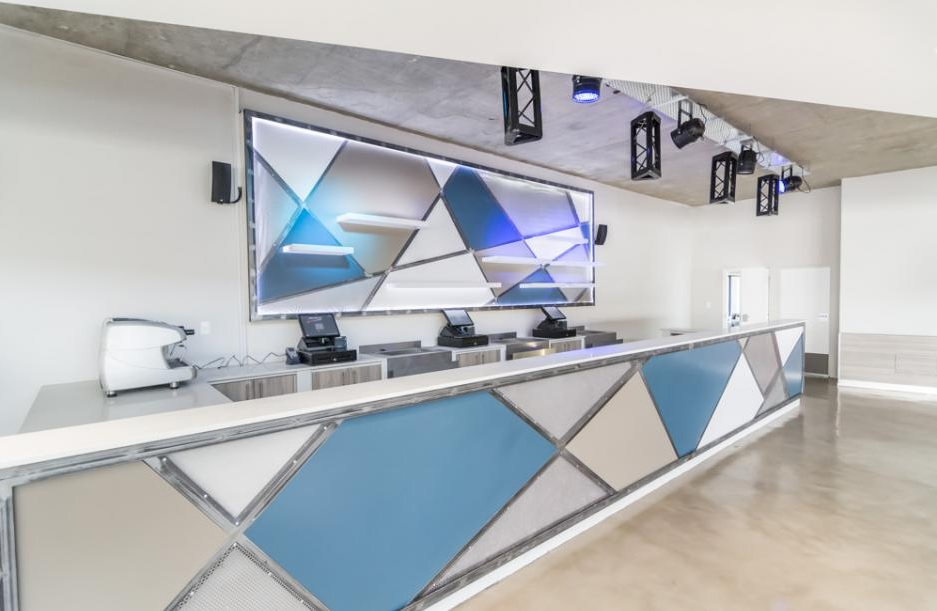 Levelthree premium events venue,built by Innovation Factory