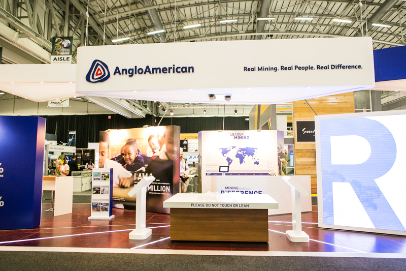 Anglo Mining Indaba Stand,built by Innovation Factory