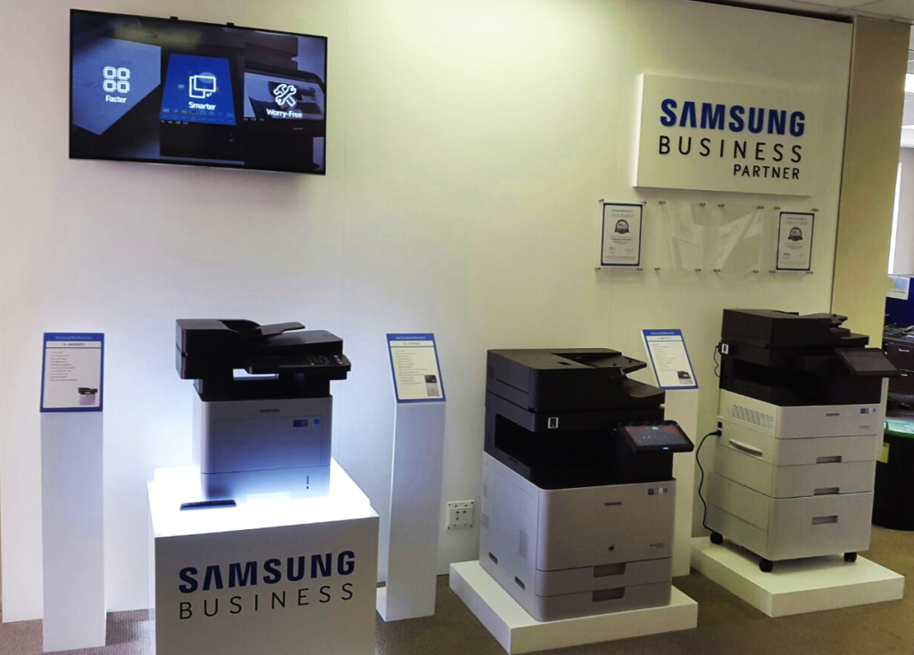 Samsung Business Partner Display Unit,built by Innovation Factory