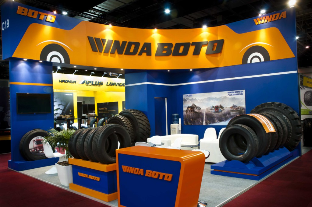 Windaboto stand ,built by Innovation Factory