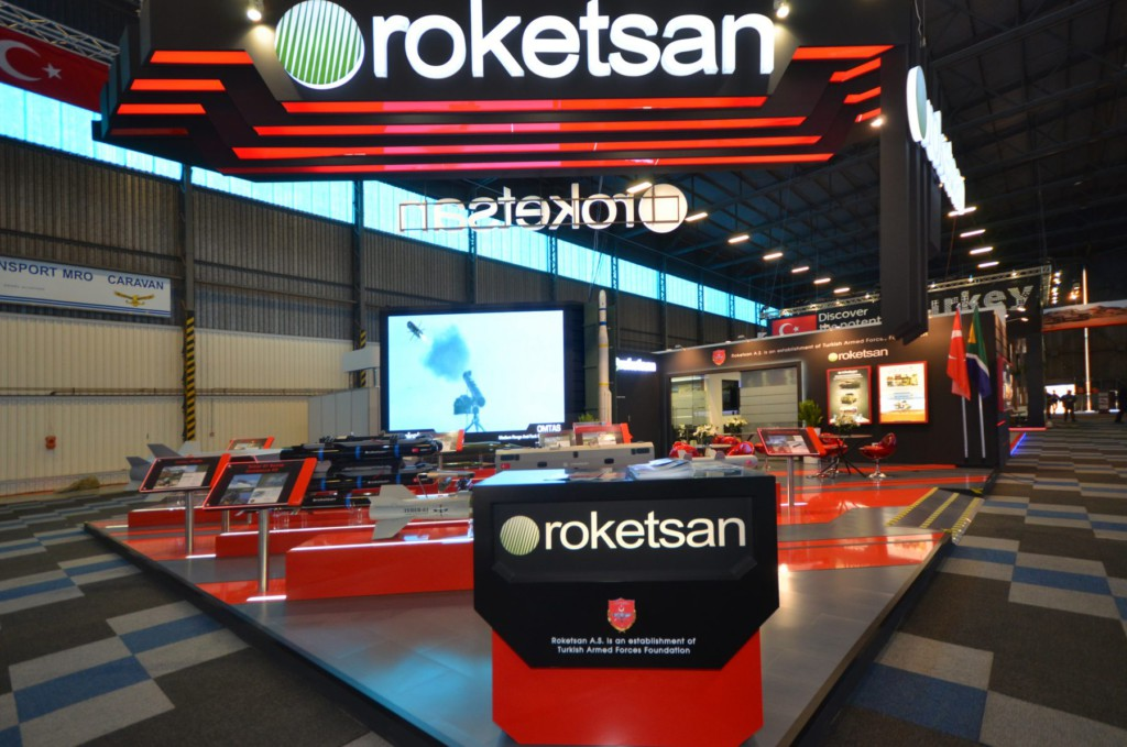 Roketsan Stand AAD 2016,built by Innovation Factory